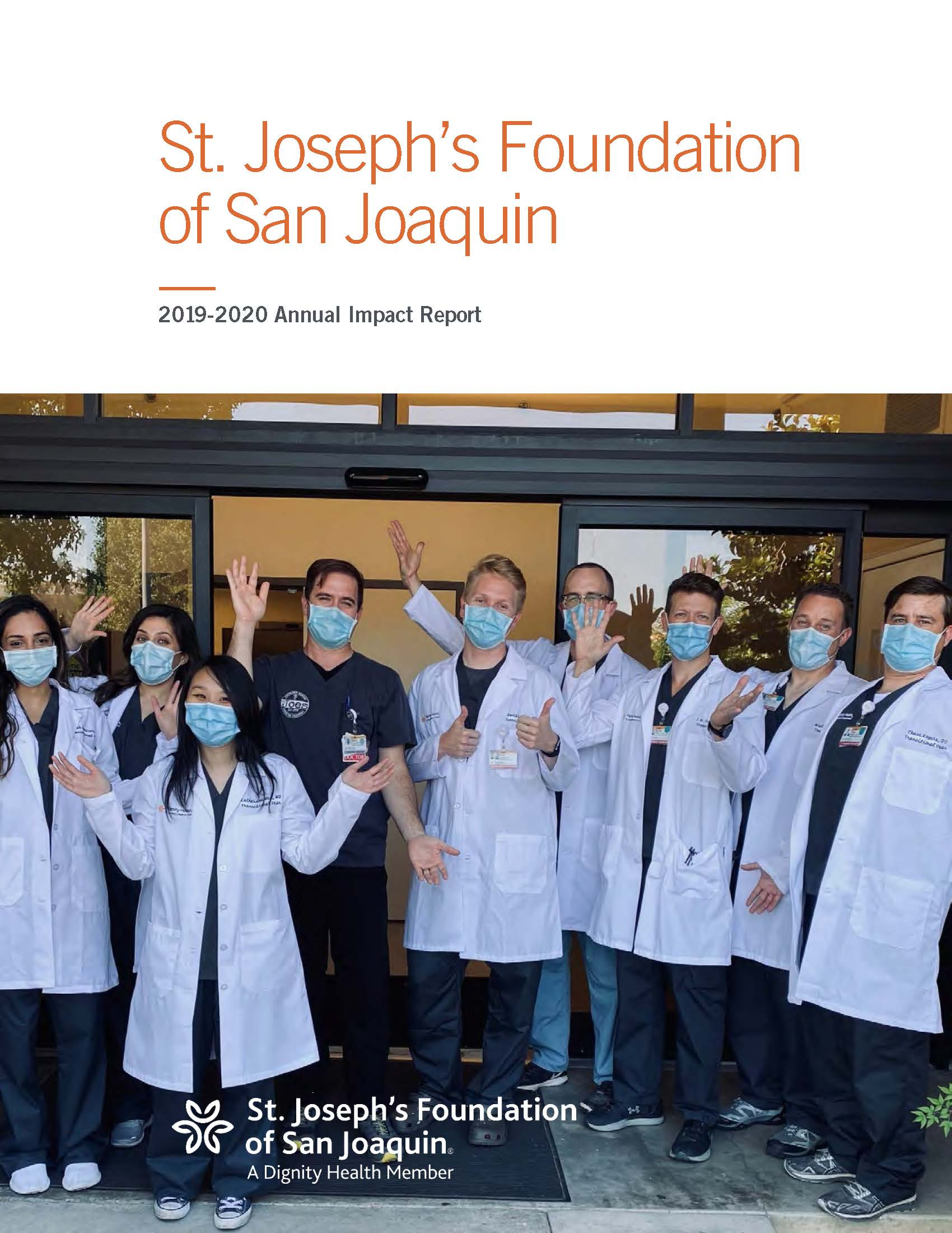 FY2020 Impact Report Cover
