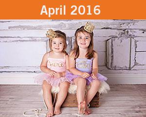 April 2016 Tiny Toes Winner