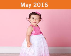May 2016 Tiny Toes Winner
