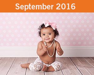 September 2016 Tiny Toes Winner