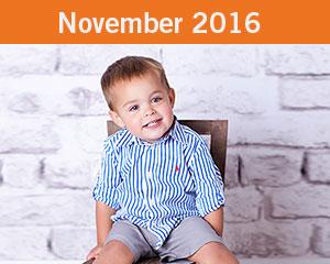 November 2016 Tiny Toes Winner