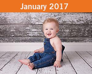 January 2017 Tiny Toes Winner