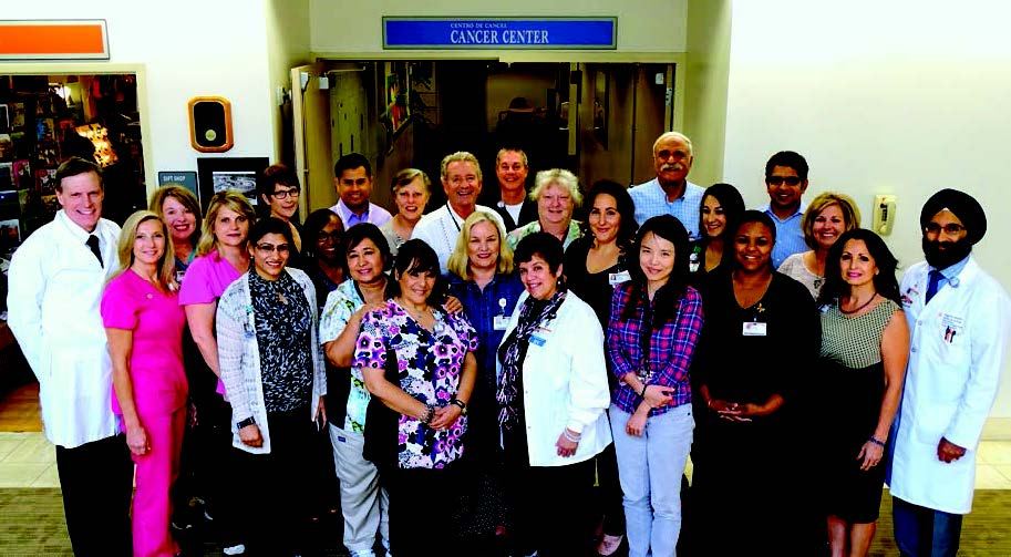 Cancer Center staff photo